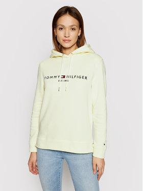 Tommy Hilfiger Tommy Hilfiger Sweatshirt WW0WW26410 Jaune Regular Fit