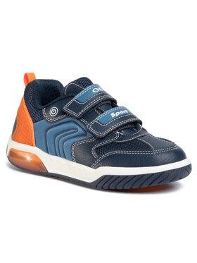 Geox Geox Laisvalaikio batai J Inek B. D J949CD 0FE14 C0820 D Tamsiai mėlyna