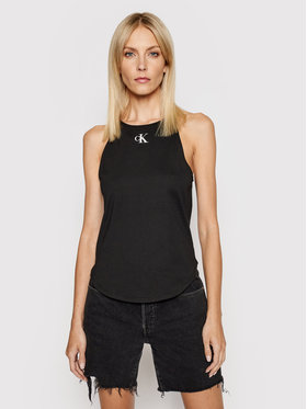 Calvin Klein Jeans Calvin Klein Jeans Top J20J215633 Negru Regular Fit