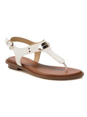 MICHAEL Michael Kors MICHAEL Michael Kors Sandale Plate Thong 40U2MKFA1L Alb