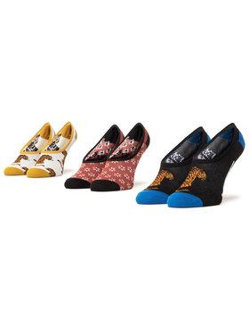 Vans Vans Σετ 3 ζευγάρια κάλτσες σοσόνια γυναικεία Tiger Floral Canoodles VN0A4S7S4481 Έγχρωμο