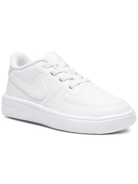 NIKE NIKE Παπούτσια Force 1 '18 (Td) 905220 100 Λευκό