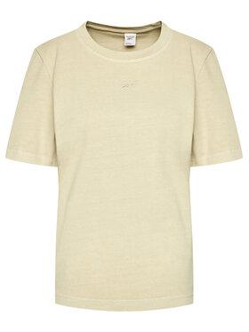Reebok Reebok T-shirt Reebok Classic Natural Dye GP7889 Beige Classic Fit