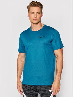 Nike Nike Тениска от техническо трико Pro Dri-FIT CZ1181 Син Standard Fit