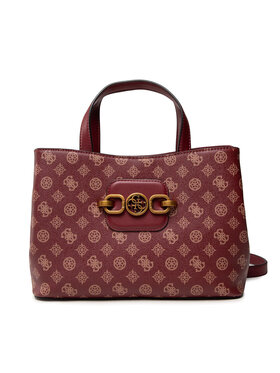 Guess Guess Дамска чанта Hensely Logo HWPB83 78070 Бордо