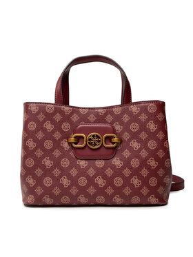 Guess Guess Handtasche Hensely Logo HWPB83 78070 Dunkelrot