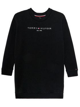 TOMMY HILFIGER TOMMY HILFIGER Každodenní šaty Essential KG0KG05449 D Černá Regular Fit