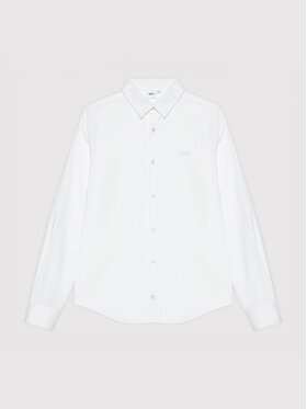 Boss Boss Риза J25N22 S Бял Regular Fit