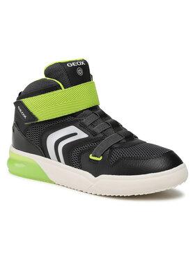 Geox Geox Sneakersy J Grayjay B. C J159YC 014BU C0802 DD Černá