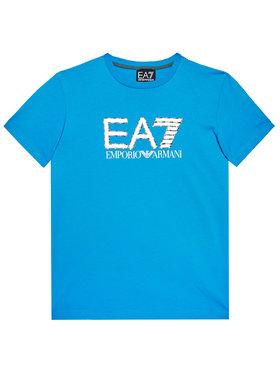 EA7 Emporio Armani EA7 Emporio Armani T-Shirt 3KBT53 BJ02Z 1523 Granatowy Regular Fit