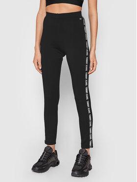 Tommy Jeans Tommy Jeans Leggings Tjw Tape DW0DW10346 Nero Skinny Fit