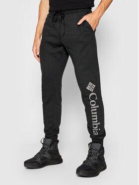 Columbia Columbia Pantaloni trening Csc Logo™ 1911601 Negru Regular Fit
