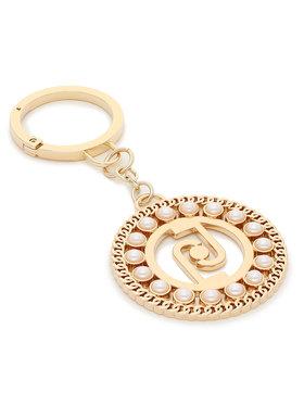 Liu Jo Liu Jo Schlüsselanhänger Key Ring Pearl L AF1127 A0001 Goldfarben