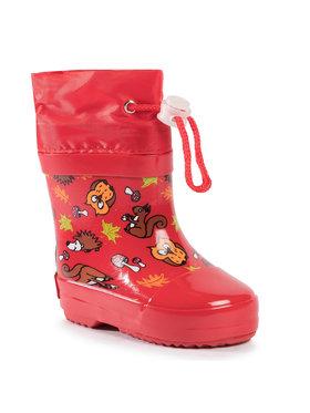 Playshoes Playshoes Gumáky 180390 Červená