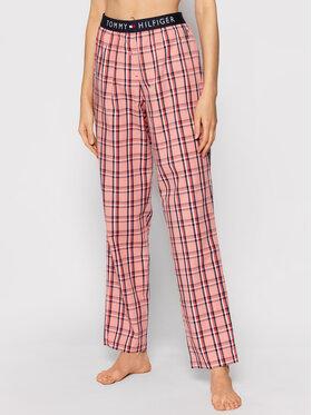 Tommy Hilfiger Tommy Hilfiger Spodnie piżamowe Woven UW0UW02604 Pomarańczowy Regular Fit