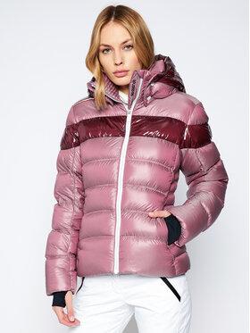 Rossignol Rossignol Kurtka narciarska Hiver Metalic RLIWJ91 Różowy Regular Fit