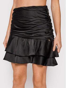 Rinascimento Rinascimento Spódnica mini CFC0104837003 Czarny Slim Fit