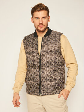 John Richmond John Richmond Gilet Down Faust UMA20053PI Nero Regular Fit
