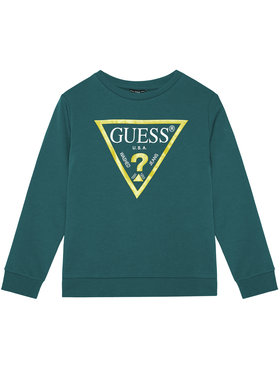 Guess Guess Džemperis L73Q09 K5WK0 Mėlyna Regular Fit