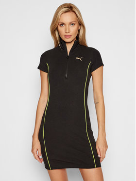 Puma Puma Kleid für den Alltag Evide Bodycon 599769 Schwarz Tight Fit