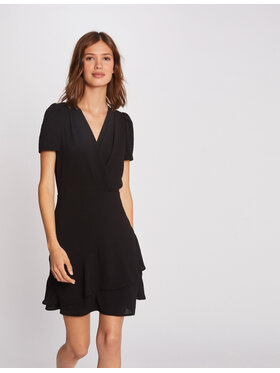 Morgan Morgan Koktejlové šaty 212-RENAIA.F Černá Regular Fit
