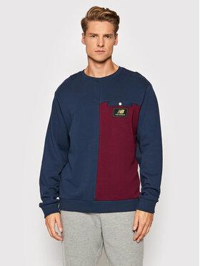 New Balance New Balance Sweatshirt MT13506 Dunkelblau Relaxed Fit