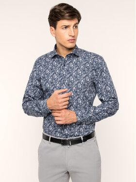 Strellson Strellson Košile 30017526 Tmavomodrá Slim Fit