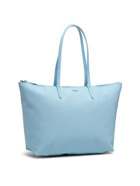 Lacoste Lacoste Torebka L Shopping Bag NF1888PO Niebieski