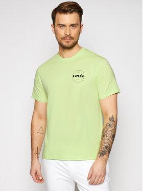 Levi's® Levi's® Marškinėliai Tee 16143 Geltona Relaxed Fit