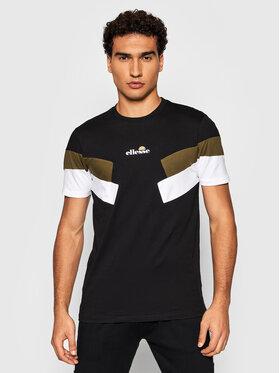 Ellesse Ellesse T-Shirt Vassan SHK13110 Czarny Regular Fit