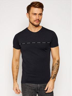 Guess Guess T-Shirt U0BM04 JR003 Černá Regular Fit