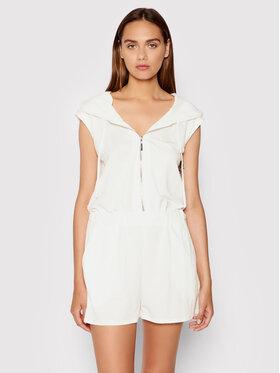 Rinascimento Rinascimento Ολόσωμη φόρμα CFC0103460003 Λευκό Regular Fit