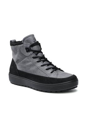 ECCO ECCO Šnurovacia obuv Soft 7 Tred M GORE-TEX 45044453779 Sivá
