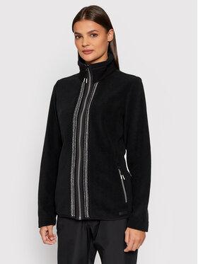 CMP CMP Polár kabát 31J3456 Fekete Regular Fit