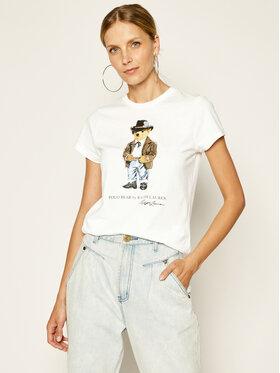 Polo Ralph Lauren Polo Ralph Lauren T-Shirt 2,12E+11 Biały Regular Fit