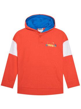 Diadora Diadora Sweatshirt Diadora Club 102.177124 Rouge Comfort Fit