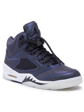 Nike Nike Buty Air Jordan 5 Retro CD2722 001 Fioletowy