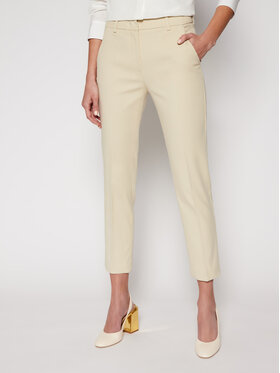 Weekend Max Mara Weekend Max Mara Pantaloni chino Vite 51310317 Bej Slim Fit