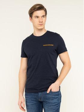 Calvin Klein Jeans Calvin Klein Jeans T-Shirt Institutional J30J307852 Granatowy Regular Fit