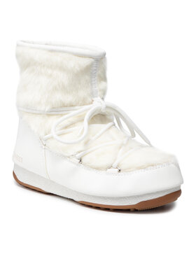 Moon Boot Moon Boot Čizme za snijeg Monaco Low Fur Wp 2 24009700003 Bijela