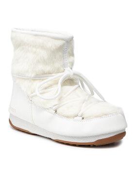 Moon Boot Moon Boot Μπότες Χιονιού Monaco Low Fur Wp 2 24009700003 Λευκό