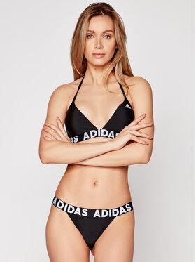 adidas adidas Bikini Neckholder FJ5092 Czarny