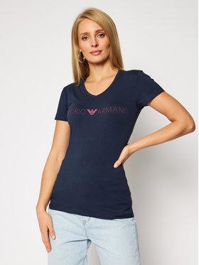 Emporio Armani Underwear Emporio Armani Underwear T-Shirt 163321 0A317 00637 Granatowy Regular Fit