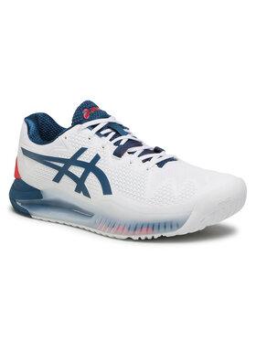 Asics Asics Pantofi Gel-Resolution 8 1041A079 Alb