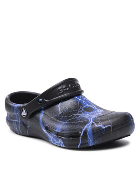 Crocs Crocs Чехли Bistro Graphic Clog 204044 Черен