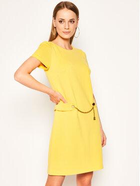 Luisa Spagnoli Luisa Spagnoli Každodenné šaty Moderata Žltá Regular Fit