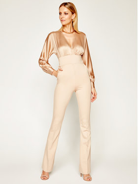 Marciano Guess Marciano Guess Salopetă Audry Jumpsuit 0GG756 7050Z Bej Regular Fit