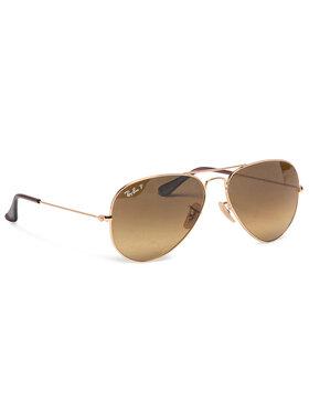 Ray-Ban Ray-Ban Okulary przeciwsłoneczne 0RB3025 001/M2 Złoty