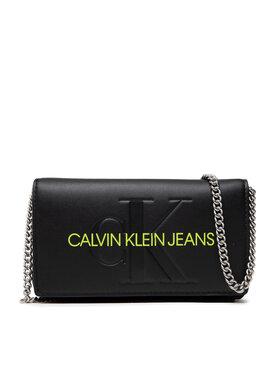 Calvin Klein Jeans Calvin Klein Jeans Дамска чанта Sculpted Mono Phone Xbody K60K608398 Черен