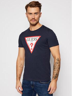 Guess Guess T-Shirt Orginal M0BI71 I3Z11 Granatowy Slim Fit